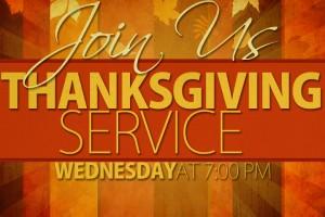 Thanksgiving-Service