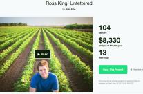 Be A Backer for Ross King's New Album