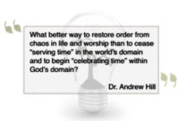 The Church Year: Redeeming Time and Ordering Worship