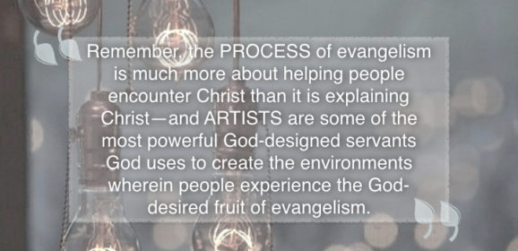 Seven Evangelism Environments Artists Create