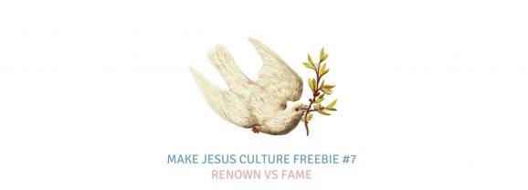 Freebie #7-Charlie Hall: Renown vs Fame