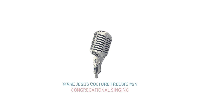 Freebie #24-Keith Getty: Congregational Singing
