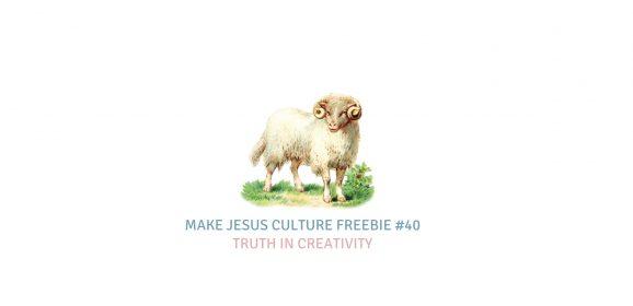 Freebie #40-Aaron Keyes: Truth In Creativity