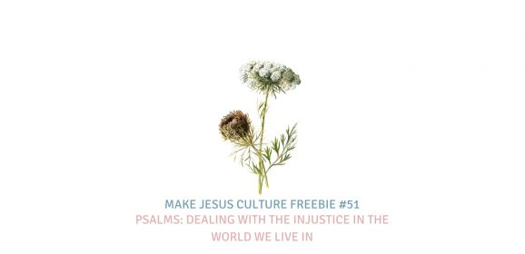 Freebie #51-Jeremy Mayfield-Psalms: Dealing With the Injustice in the World We Live In