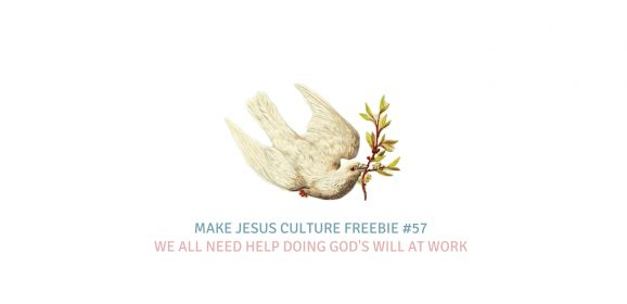 Freebie #57-William Messenger: We all need help doing God's will at work