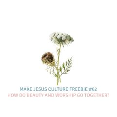 Freebie #62-Chris Powers: How do beauty and worship go together?