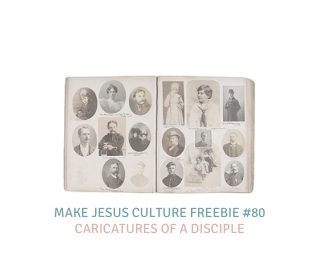 Freebie # 80-Dave Yauk: Caricatures of a Disciple