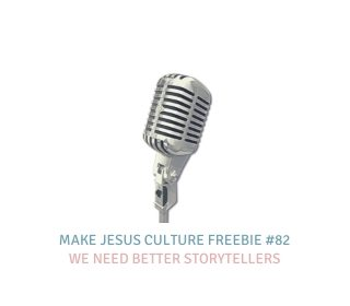 Freebie # 82-Dave Yauk: We Need Better Storytellers