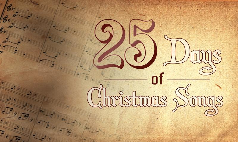 A new series on Christmas Songs on davidlindner.net