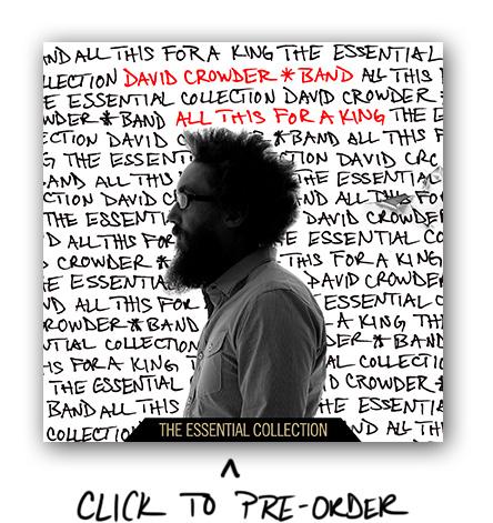 David Crowder – All This For A King – Giveaway