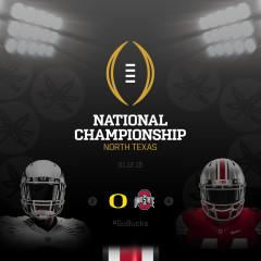 WMC-0147 – Special Episode – Ducks/Bucks – College Football National Championship Game