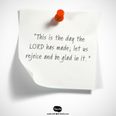Responsorial Psalm 118: This Is the Day the Lord Has Made!