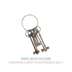 Honoring Christ In Our Bodies-Day 1