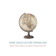 Freebie #48-Joel Limpic: Why the Bible & Why Creativity?