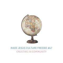 Freebie #47-Joel Limpic: Creating in Community