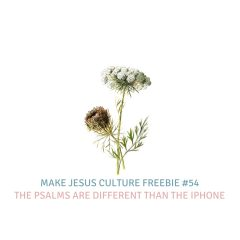 Freebie #54-Jeremy Mayfield: The Psalms are Different Than the iPhone