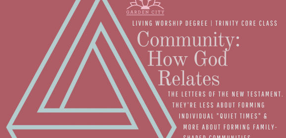 Paul's Letters | A Glimpse at a Course on Community